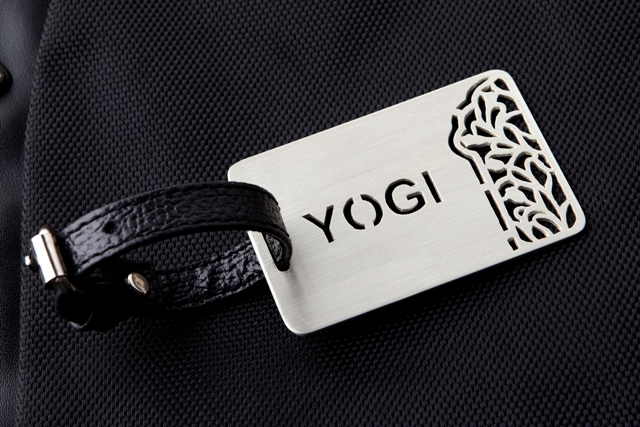 PATTERNED CUSTOMIZABLE LUGGAGE TAG