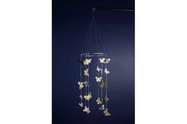 SILVER PLATED & BRASS BABY CHIMES