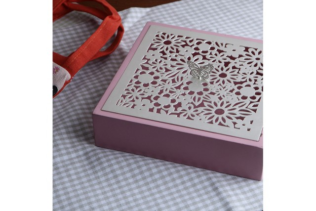 SILVER PLATED & WOODEN BABY BOXES