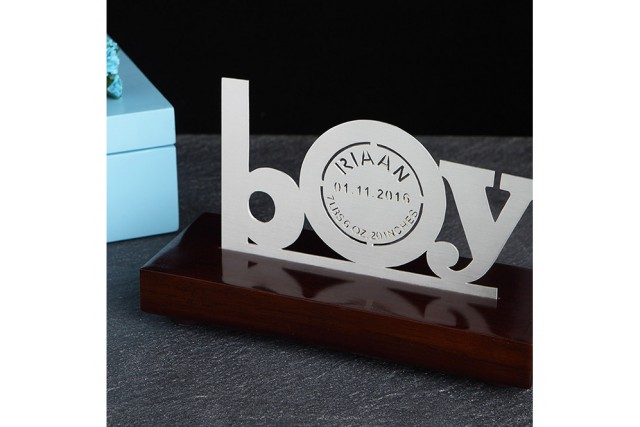 SILVER PLATED BABY MEMENTO