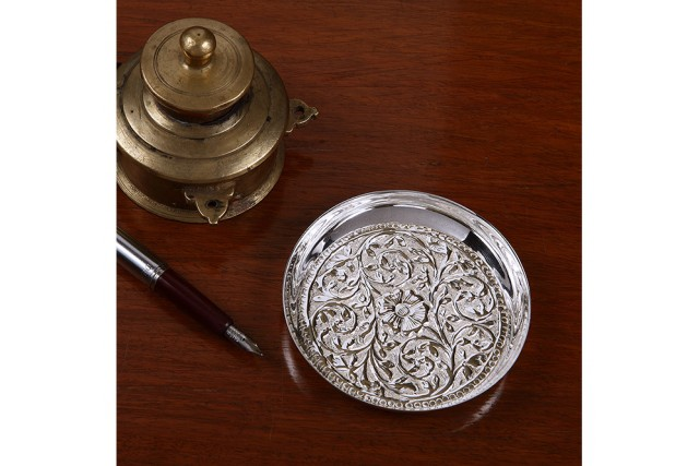 SILVER PLATED OFFICE ACCESSORIES