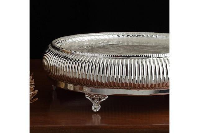 SILVER PLATED CAKE STAND