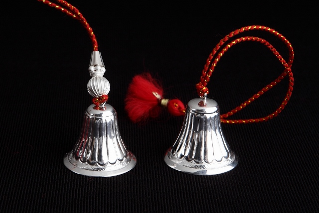 SILVER PLATED LUMBA RAKHI SINGLE PCS